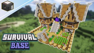 ULTIMATE SURVIVAL BASE| How to Build Base in Minecraft | Minecraft Tutorial Minecraft Blog