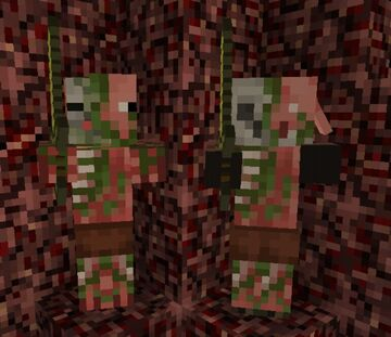 My Zombie Pigman Loves Zombiefied Piglins Minecraft Blog
