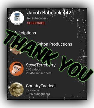 "Thank You, ""Jacob Babcock 442""!!! Minecraft Blog"