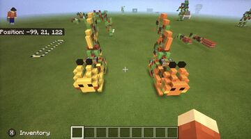 Working Pikachu Robot For MCPE/Bedrock Edition Minecraft Blog