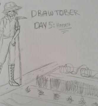 Drawtober Day 5 Minecraft Blog