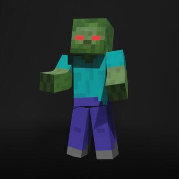 Zombie Render Minecraft Blog