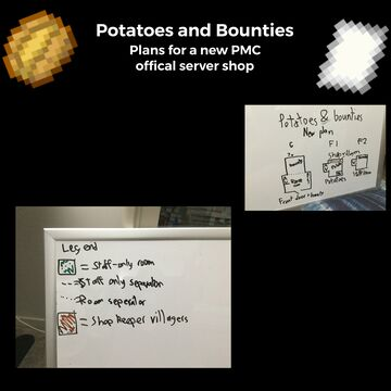 Plans have been done for my new shop Minecraft Blog