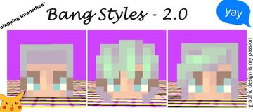 minecraft skins - bangs tutorial (better than my old one) Minecraft Blog