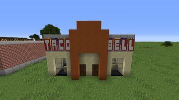I made Taco Bell in Minecraft Minecraft Blog