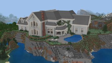 Landscaping the Oceanside Mansion Minecraft Blog