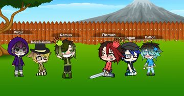 So I Resently Got into, Sander Sides. And Decided To Make Their Characters In Gatcha Life!! >wo heheh!!! Minecraft Blog