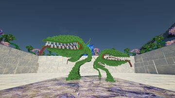 "Minecraft texture pack G3N3ZIS HD. The ""meat eating plant"". 1024x1024 - SEUS PTGI 12 Minecraft Blog"