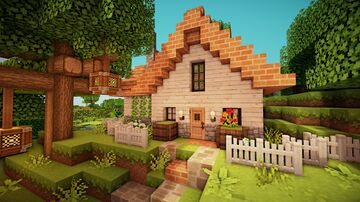 Cottage Build Minecraft Blog