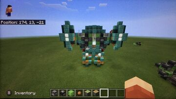 Minecraft MCPE/Bedrock Edition Walking Mech Suit Minecraft Blog