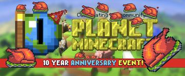 Bring out the turkey and celebrate with PMC! Minecraft Blog