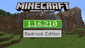 1.16.210 Released! Minecraft BEDROCK BETA Out! Minor Update & Fixes Minecraft Blog