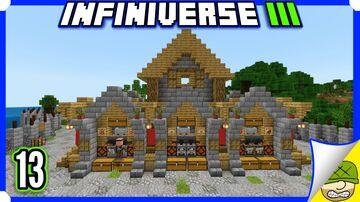 Super Smelting Furnace Array | 13 | Minecraft Infiniverse S3 Minecraft Blog