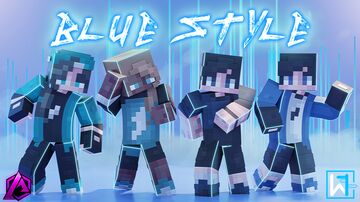 BlueStyle | Visit and purchase at the Minecraft MarketPlace✓ Minecraft Blog