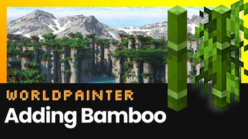 Guide: How to Add Bamboo to Worldpainter | Minecraft | McMeddon Minecraft Blog