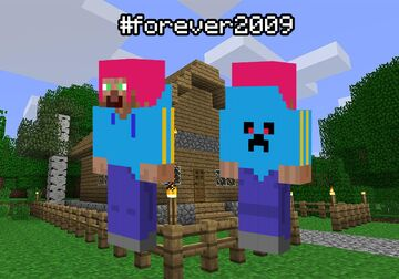 My skin in 2009 style Minecraft Blog