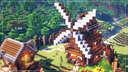 Minecraft | How to Build a Medieval Village | Windmill Minecraft Blog