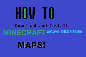 How to download and install minecraft java edition maps! Minecraft Blog