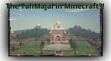 Players Are Building a 1:1 Model of the Earth In Minecraft; Check out the Taj Mahal Here Minecraft Blog
