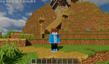 Heres a screenshot i took with shaders Minecraft Blog
