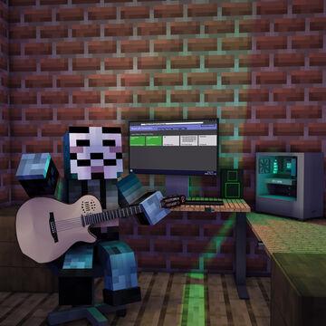 Minecraft Gaming Computer / Guitar Room [8k Desktop Wallpaper] Minecraft Blog