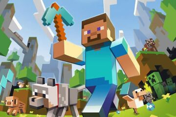 My first blog !!!!! Gamers welcome Minecraft Blog