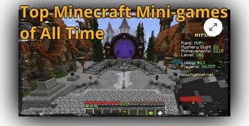 Top 5 most popular Minecraft mini-games of all time Minecraft Blog