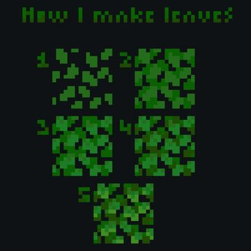 Made a little leave tutorial Minecraft Blog