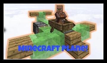 How To Make a Minecraft Airplane! (Works!) Minecraft Blog