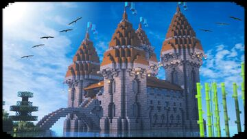 Medieval Castle Minecraft Blog