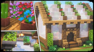 Small and Simple Greenhouse Minecraft Blog