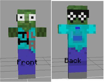My Zombie Skin Minecraft Blog