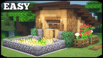 Easy Simple Starter House Minecraft Blog