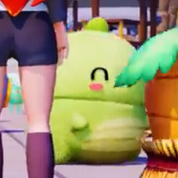 That green lad in sunset paradise looks like @Dinowcookie Minecraft Blog
