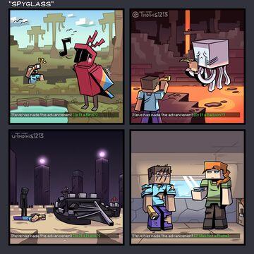 Timothis' Comic Blog 2020 - 2021 Minecraft Blog