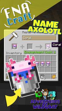 [EASY] How to Name an Axolotl - Short Video Minecraft Blog
