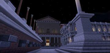 AB VRBE CONDITA- Visita virtual a la «Curia Ivlia» Minecraft Blog