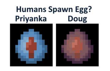 Humans Spawn Egg | Steven Universe Characters Mod Minecraft Blog