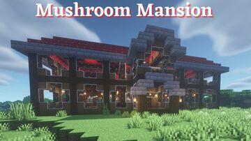 Mushroom Mansion Tutorial Minecraft Blog
