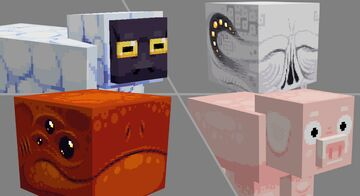 ×64 mob skin collection! || 2nd pack Minecraft Blog