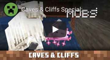 New Minecraft Caves & Cliffs Video by Mojang Minecraft Blog
