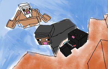 My BFF In sand Minecraft Blog