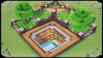 Ultimate Underground Survival Base Minecraft Blog