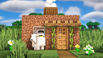 Minecraft   How to Build an Incredibly Beautiful House, Which Strikes The Imagination   vanstar Minecraft Blog
