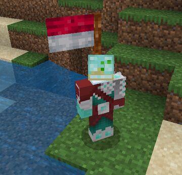 I made a Flag addon for my friend server...... Minecraft Blog