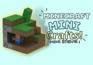 (𝗠𝗶𝗻𝗶-𝗦𝘁𝗲𝘃𝗲)𝘼𝙧𝙩𝙨 𝙖𝙣𝙙 𝙘𝙧𝙖𝙛𝙩𝙨 𝙥𝙖𝙥𝙚𝙧 𝙥𝙧𝙞𝙣𝙩 Minecraft Blog
