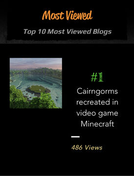 Top 10 Most Viewed Blogs (of All Time) on SpawnPoint Minecraft Blog