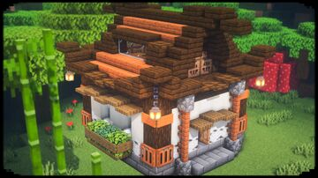 Small Japanese House Minecraft Blog
