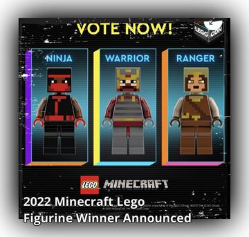 LEGO Minecraft 2022 Minifigure Skin Winner Announced Minecraft Blog