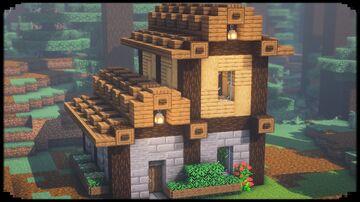 Survival Starter House Minecraft Blog